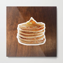 Pancakes! Metal Print