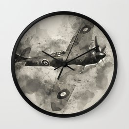 Hawker Tempest Wall Clock
