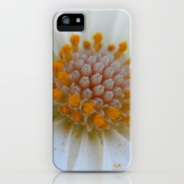 Macro Flower 22 iPhone Case