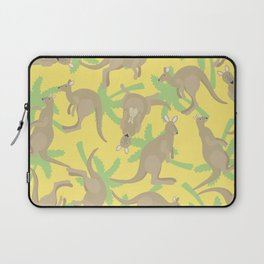 crazy kangaroos Laptop Sleeve