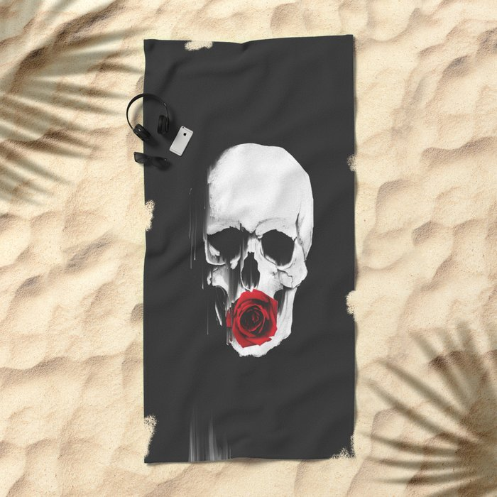 Fragile Love Beach Towel