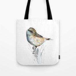 Mr Riroriro, the New Zealand Grey Warbler Tote Bag