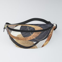 Abstract Pebbles III Fanny Pack
