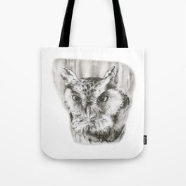 Owl Stare by annmariescreations Tote Bag