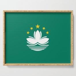 Flag of Macau Serving Tray