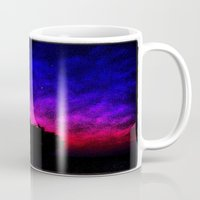 picasso Mugs featuring Picasso Sky by tbm003