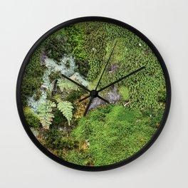 Moss Photograph Wall Clock