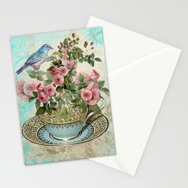 Tea Flower #1 Stationery Cards