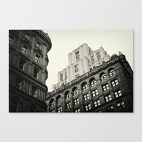 montreal Canvas Prints featuring Montreal by Snablab