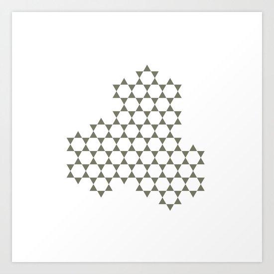 #304 Cluster – Geometry Daily Art Print