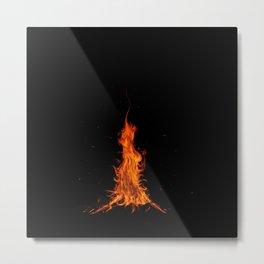 I See Fire Metal Print