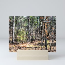 Abstract Nature 123 Mini Art Print