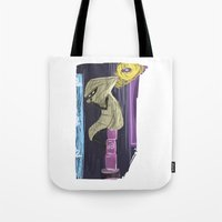 homestuck Tote Bags featuring The Mayor of Can Town by Michelle Rakar