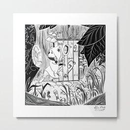 Followed Metal Print