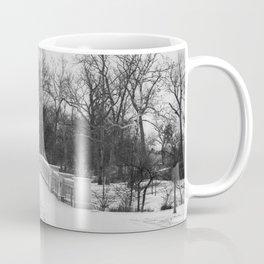 Winter Solitude - St. Louis Snowy Bridge Coffee Mug