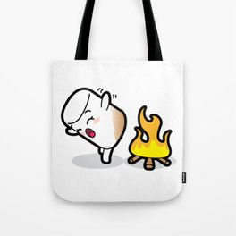 Toasty Buns Marshmallow Baby Art Tote Bag