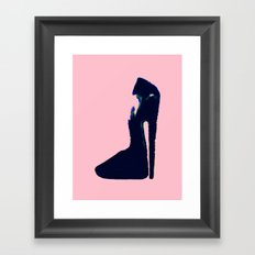 Chaussure Framed Art Print