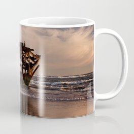 Peter Iredale Shipwreck at Fort Stevens State Park. Coffee Mug