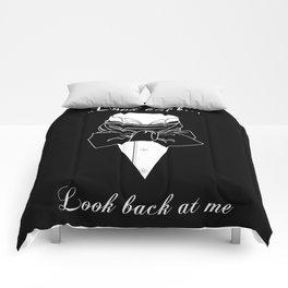 John Thornton : Look back  -white txt- Comforters