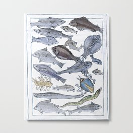 Fishy business, beasties Metal Print