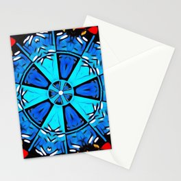 Inspirational Abstract Mandala Stationery Cards