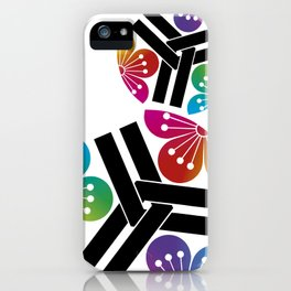 Colorful Kamon iPhone Case