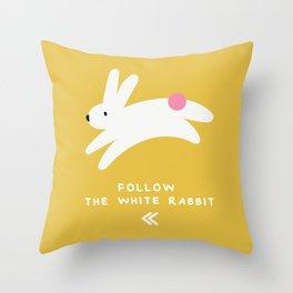 KAI Rabbits Throw Pillow