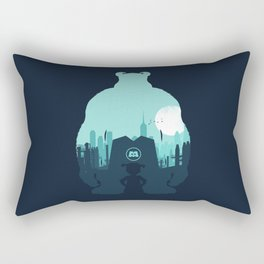 Welcome To Monsters, Inc. Rectangular Pillow