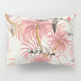 Tropical island of flamingos II Pillow Sham