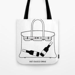 Hot/Sauce/Swag Tote Bag
