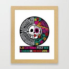 La Catrina Fest MX 2015 Framed Art Print