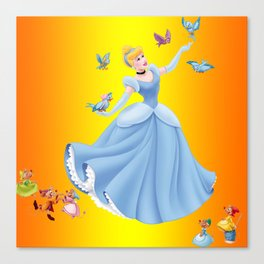beautiful princess Canvas Print