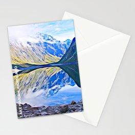 Lake Marian, Fiordland National Park, South Island, New Zealand Stationery Cards
