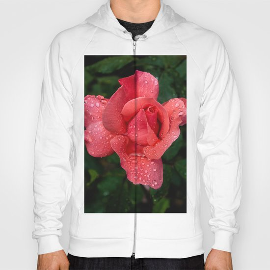 A rose after the rain Hoody