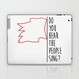 Do You hear The People Sing? - Red Flag? Laptop & iPad Skin