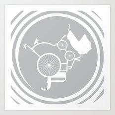 LifeCycle (spiral) Art Print