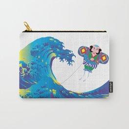 Hokusai Rainbow & Jpanese Yakko kite  Carry-All Pouch