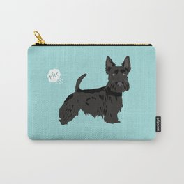 scottish terrier scotties funny farting dog breed pure breed pet gifts Carry-All Pouch