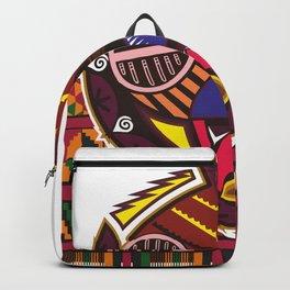 Warriors mask Backpack