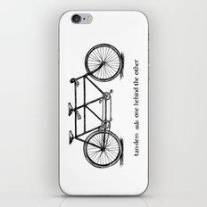 in tandem iPhone & iPod Skin