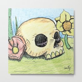 Deadly Spring Metal Print