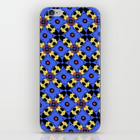 Beetles Pattern iPhone & iPod Skin