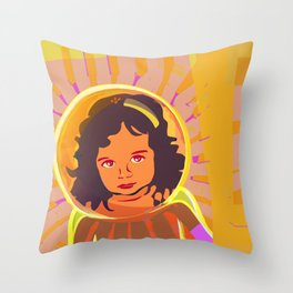 Total Protection II Throw Pillow