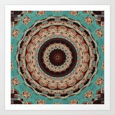 Southwest Mandala Art Print