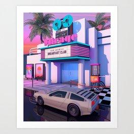 80s Cinema Art Print