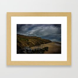 Walton Beach,Essex,England Framed Art Print