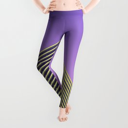 YELLOW GLASS WALLED HIGH-RISE BUILDING Leggings