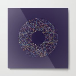 Generative Splines 2 Metal Print