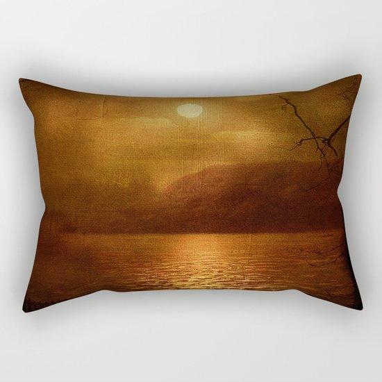 Serenity Painted Death Rectangular Pillow