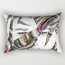 Origami Guy Rectangular Pillow